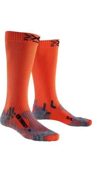 X-Socks Run Energizer Long Hardloopsokken oranje